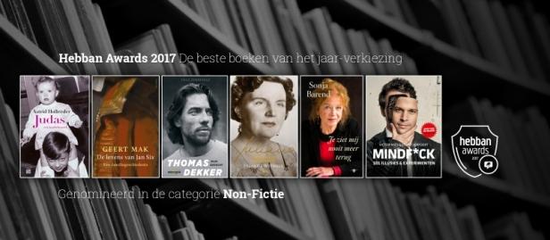 hebban awards 2017 non-fictie