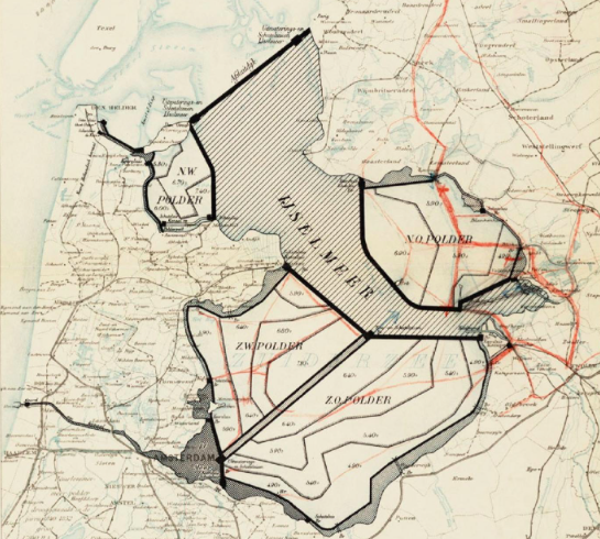 Plannen Cornelis Lely